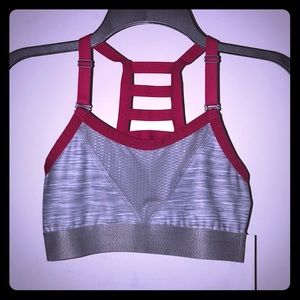 Low Impact Cage Back Sports Bra